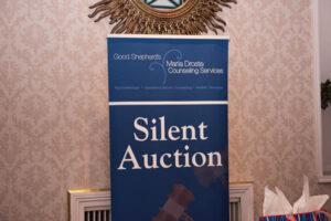 silent auction signage